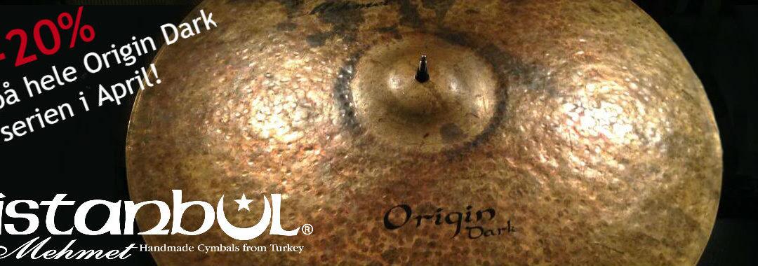 Kampanje på hele Istanbul Mehmet Origin Dark serien i April!
